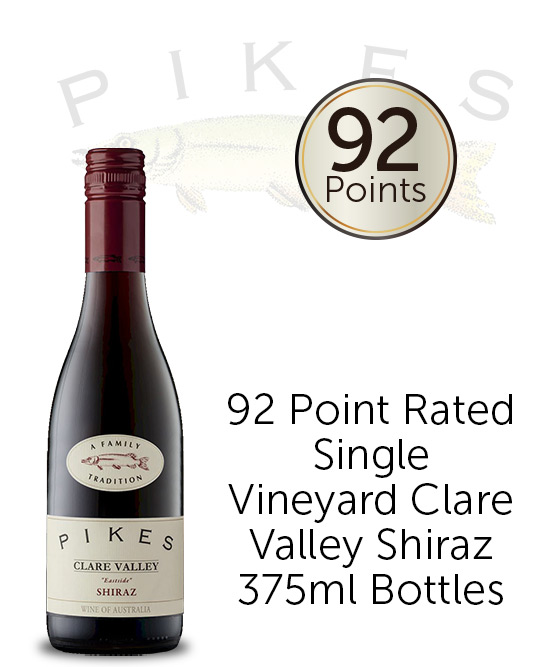 Pikes Eastside Clare Valley Shiraz 2016 375ml