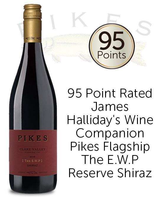 Pikes The E.W.P Reserve Clare Valley Shiraz 2018