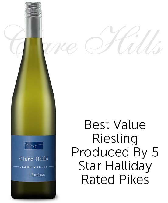 Clare Hills Clare Valley Riesling 2019 By Pikes