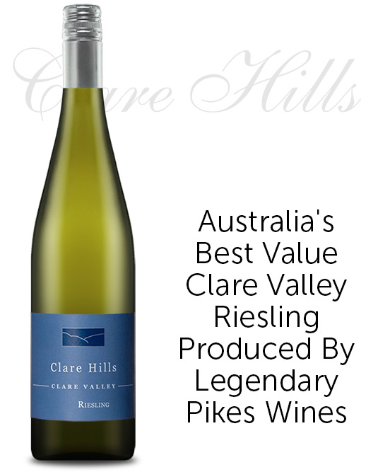 Clare Hills Clare Valley Riesling 2021 By Pikes