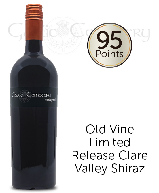 Gaelic Cemetery Vineyard Clare Valley Premium Shiraz 2013