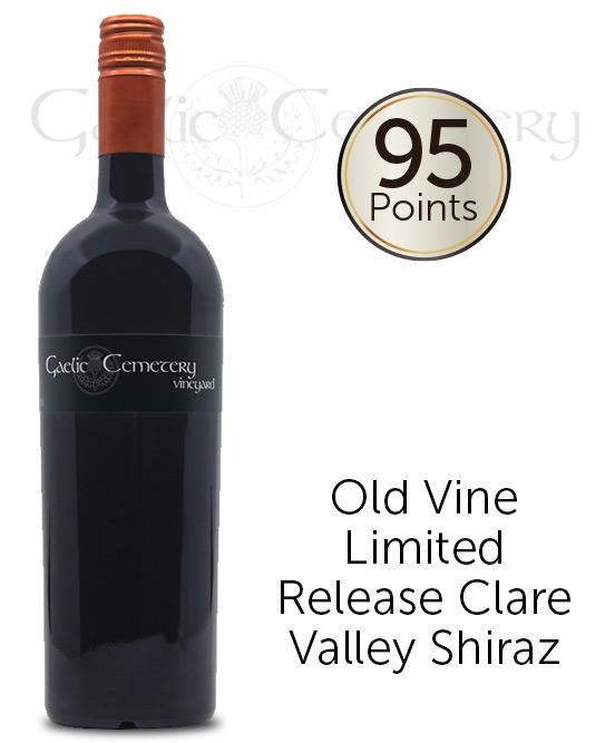 Gaelic Cemetery Vineyard Clare Valley Premium Shiraz 2013