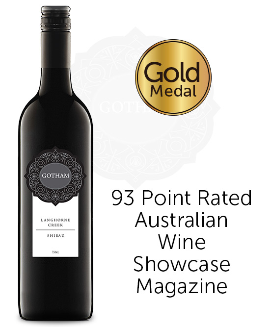 Gotham Langhorne Creek Shiraz 2019