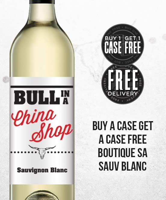 Bull In A China Shop Sauvignon Blanc 2016