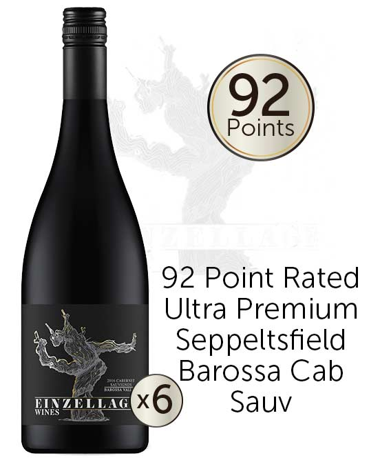 Einzellage Seppeltsfield Barossa Valley Cabernet Sauvignon 2016 6pack