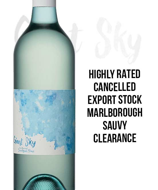 Giant Sky Marlborough Sauvignon Blanc 2016