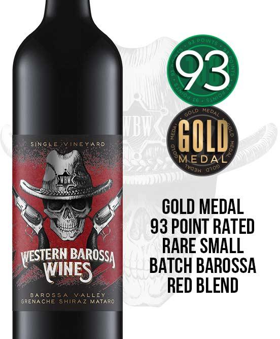 Western Barossa Wines Barossa Valley GSM 2016