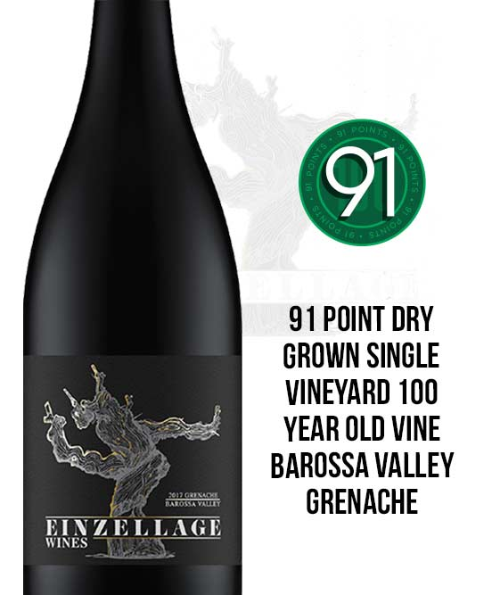 Einzellage 100 Year Old Vine Valley Floor Barossa Valley Grenache 2017