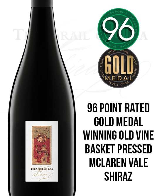 The Grail Of Lisa McLaren Vale Old Vines Shiraz 2017