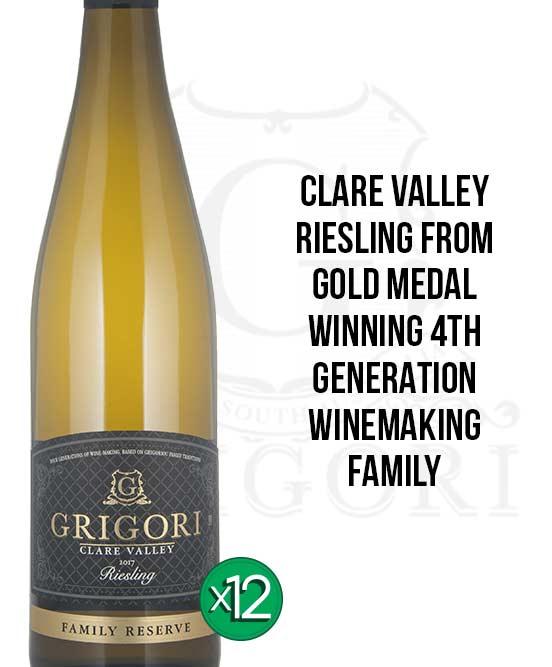 Grigori Clare Valley Riesling 2017 Dozen