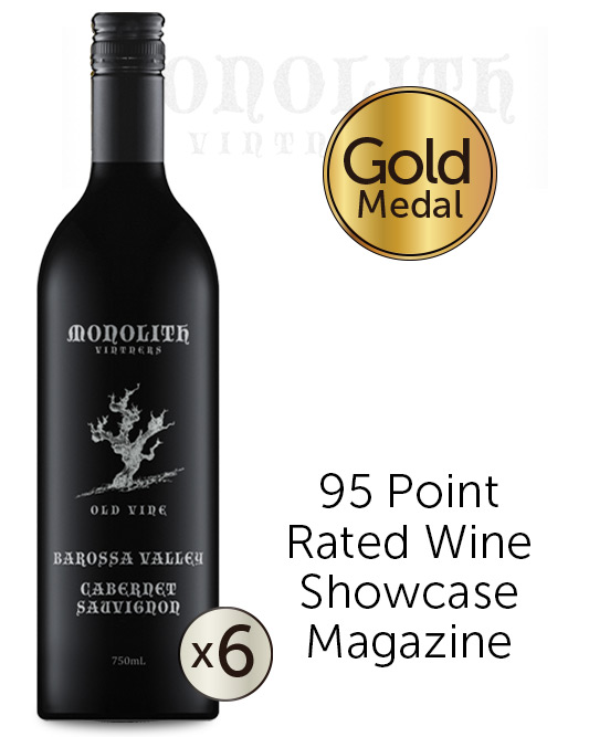 Monolith Vintners Old Vine Barossa Valley Cabernet Sauvignon 2017 6pack