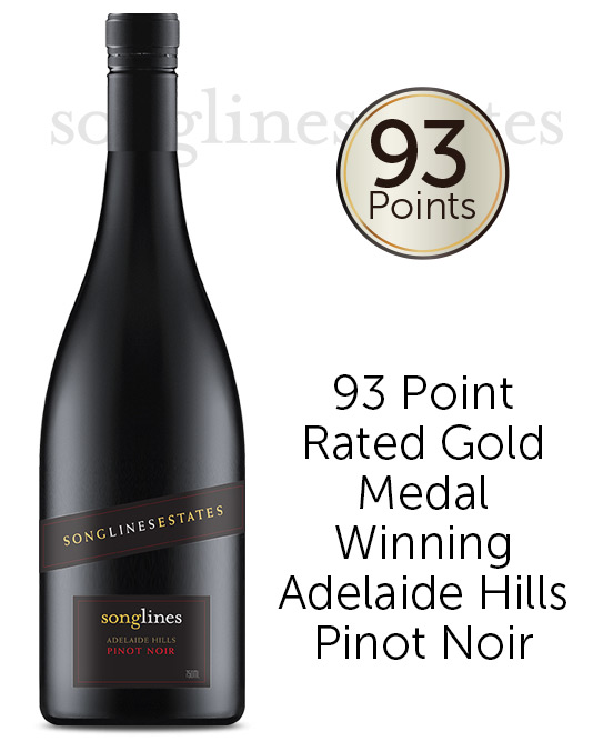Songlines Estates Adelaide Hills Pinot Noir 2017