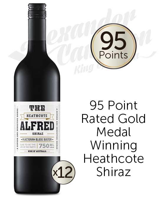 The Alfred Heathcote Shiraz 2017 Dozen