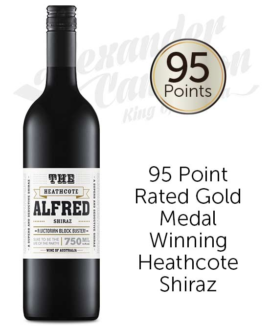 The Alfred Heathcote Shiraz 2017