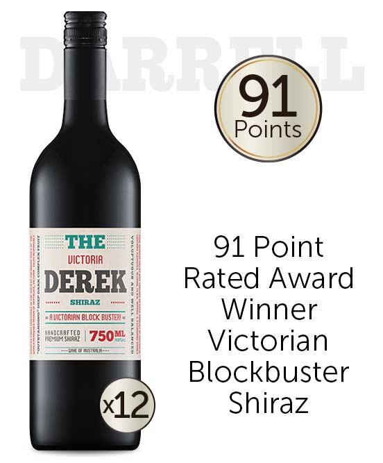 The Derek Victorian Shiraz 2017 Dozen