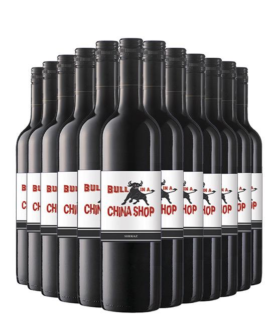 Bull In A China Shop Shiraz 2018 Dozen