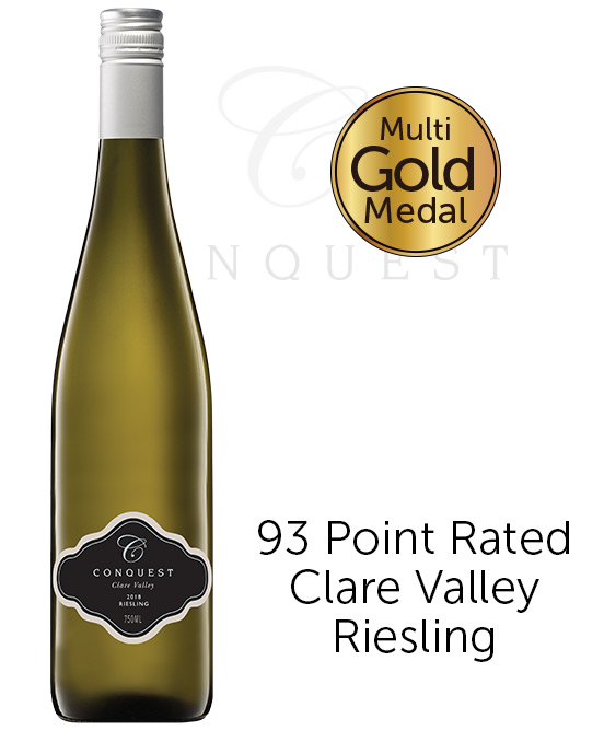 Conquest Clare Valley Riesling 2018