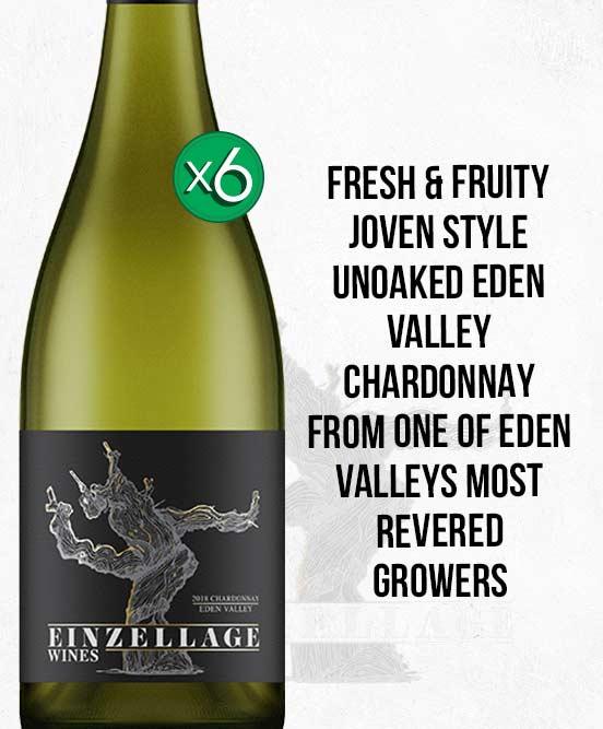 Einzellage Moculta Eden Valley Chardonnay 2018 6pack