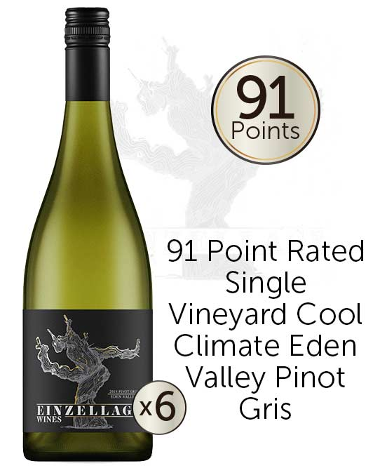 Einzellage Moculta Eden Valley Pinot Gris 2018 6pack