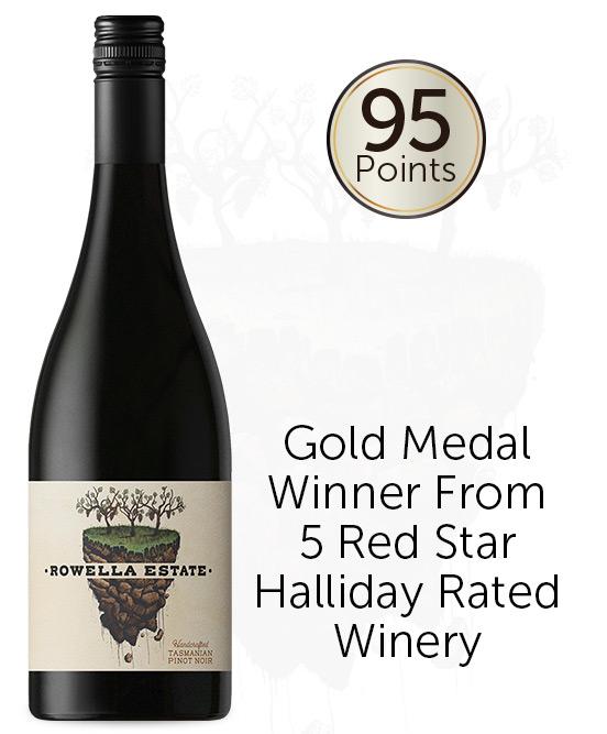 Rowella Estate Tasmanian Pinot Noir 2018 By Holm Oak