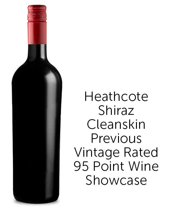 5 Star Heathcote Producers Single Vineyard Shiraz 2018 Cleanskin