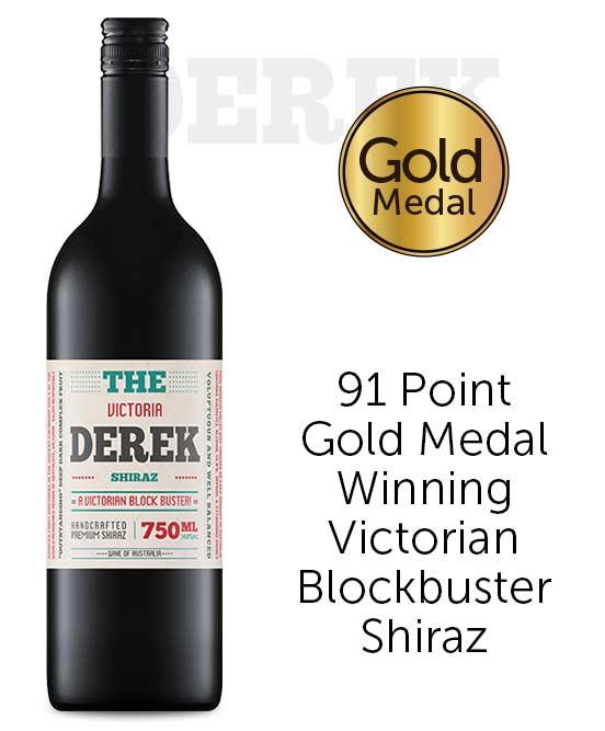 The Derek Victorian Shiraz 2018