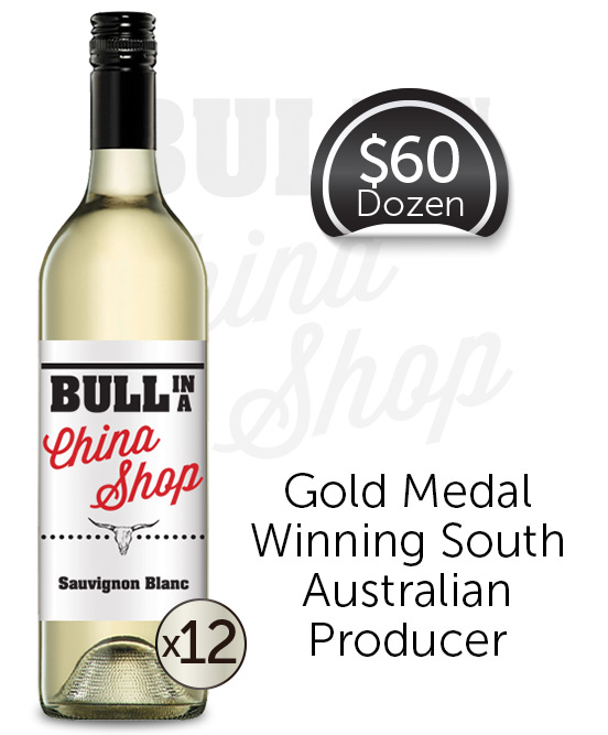 Bull In A China Shop Sauvignon Blanc 2019 Dozen