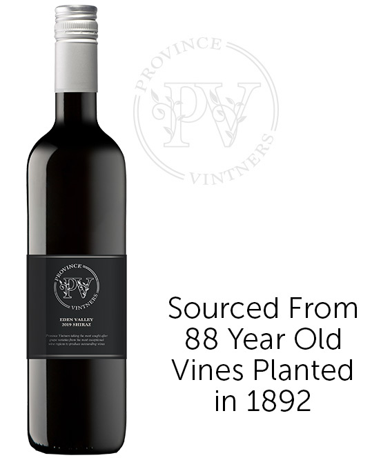 Province Vintners Eden Valley Shiraz 2019