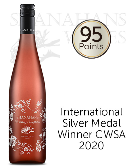 Shanahans Resisting Temptation Barossa Valley Rose 2019