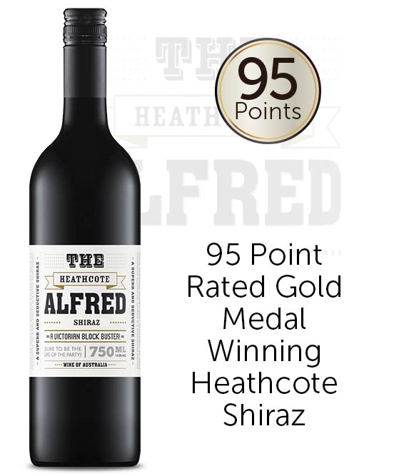 The Alfred Heathcote Shiraz 2019