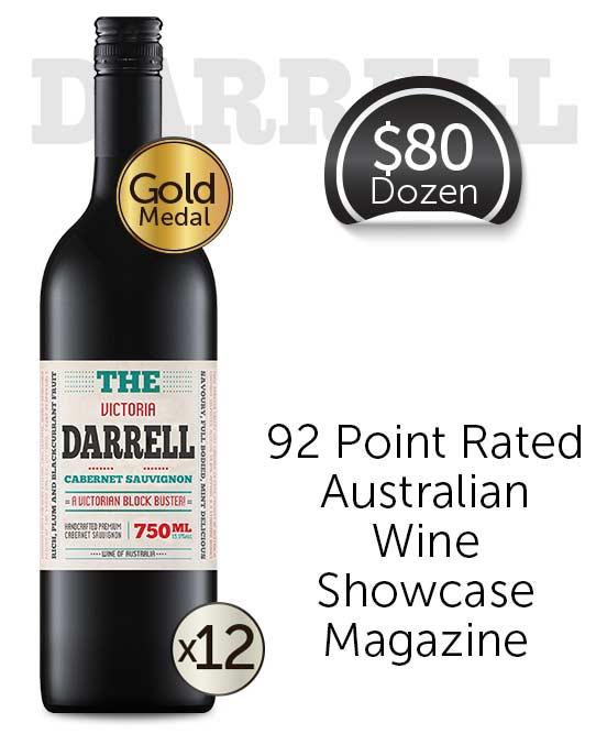 The Darrell Victorian Cabernet Sauvignon 2019 Dozen
