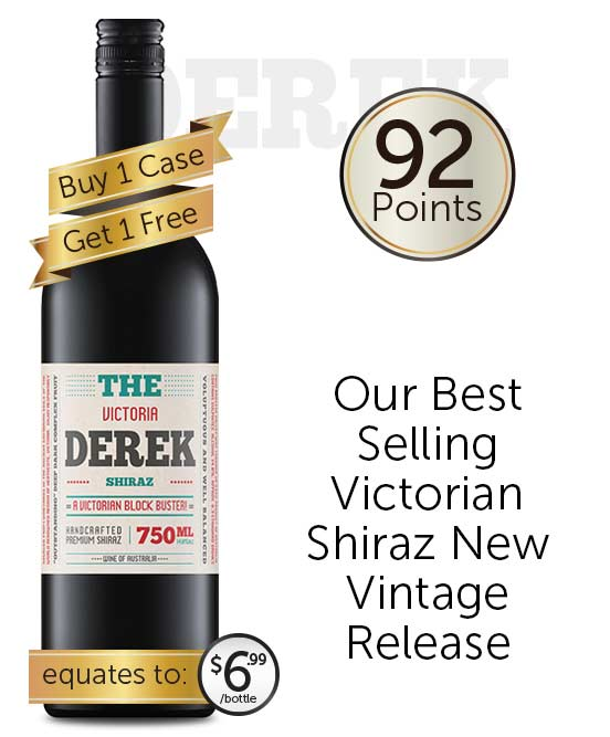 The Derek Victorian Shiraz 2019