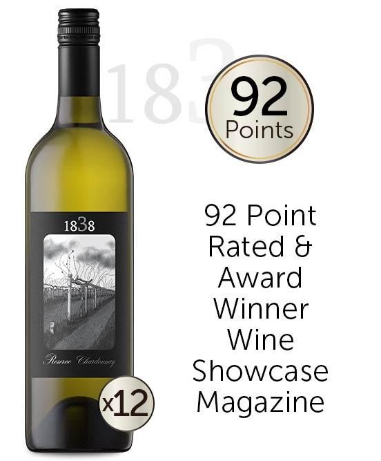 1838 Reserve Chardonnay 2020 Dozen