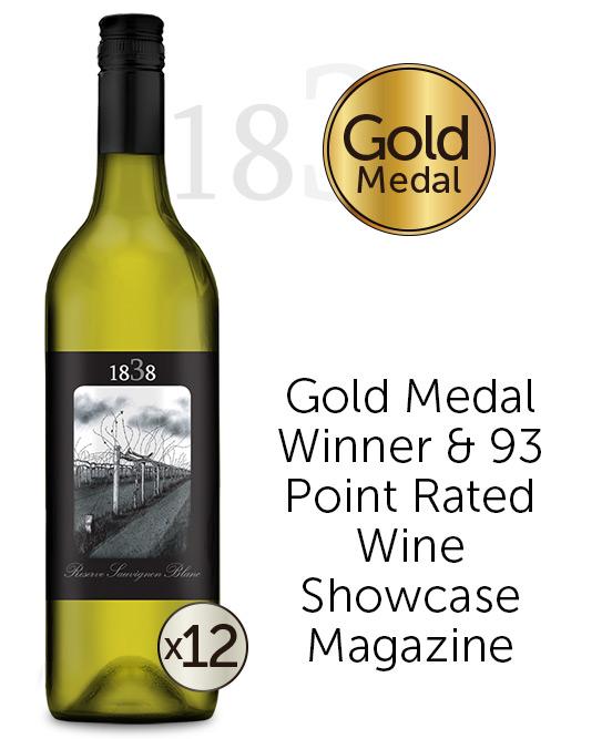 1838 Reserve Sauvignon Blanc 2020 Dozen