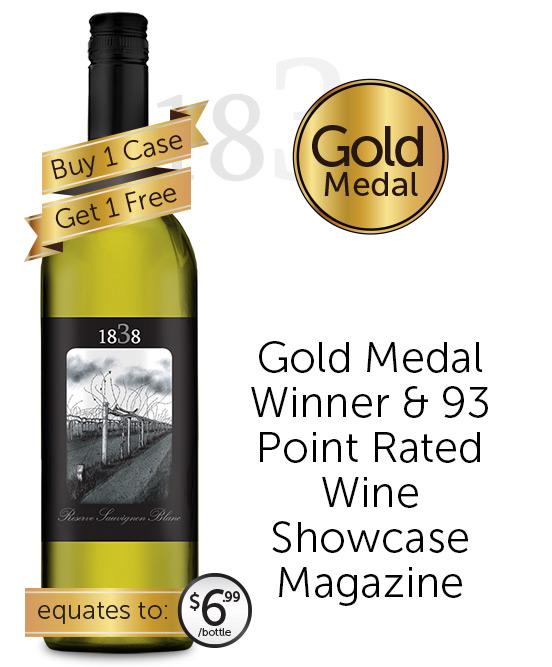 1838 Reserve Sauvignon Blanc 2020