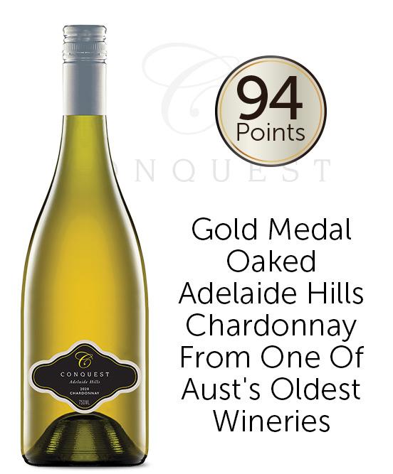 Conquest Adelaide Hills Chardonnay 2020