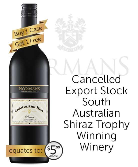 Normans Chandlers Hill Shiraz 2020