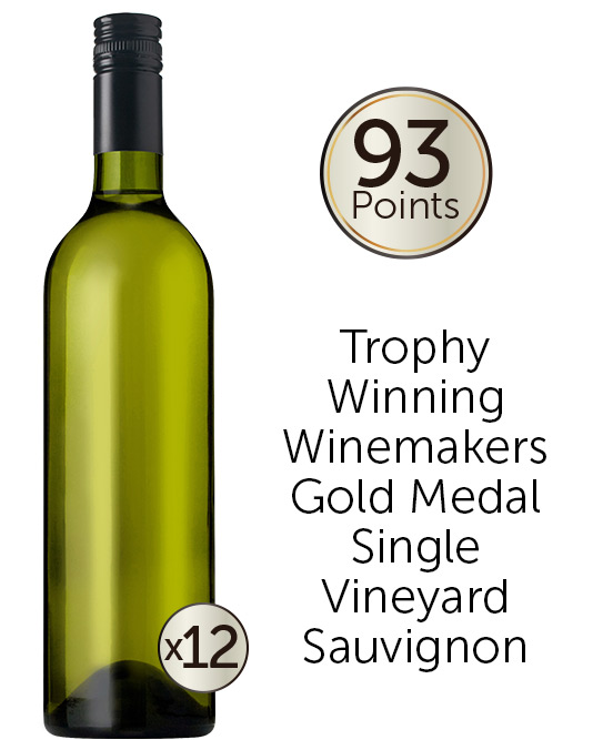 93 Point Rated Adelaide Hills Sauvignon Blanc 2020 Cleanskin Dozen