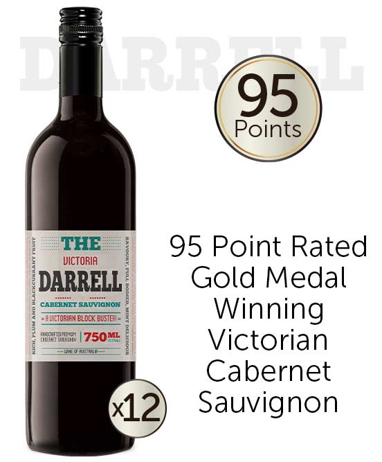 The Darrell Victorian Cabernet Sauvignon 2020 Dozen