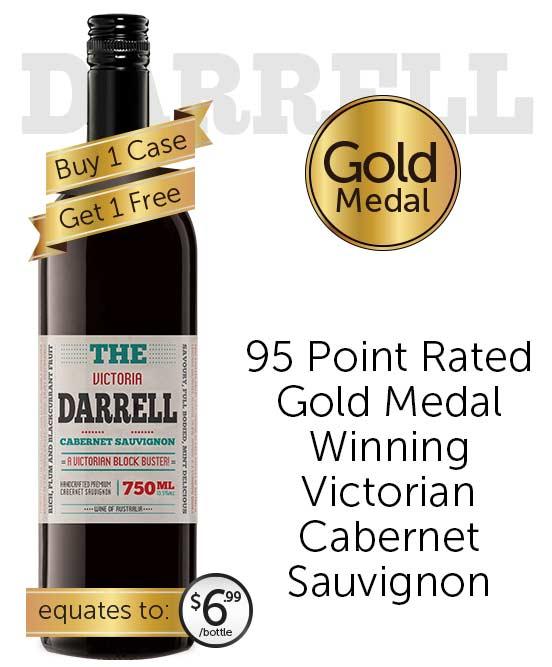 The Darrell Victorian Cabernet Sauvignon 2020
