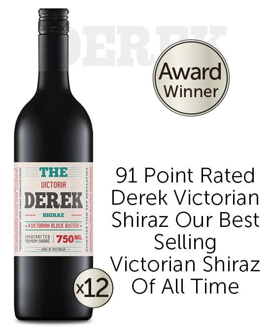 The Derek Victorian Shiraz 2020 Dozen