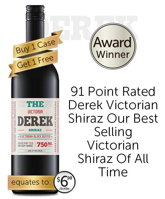 The Derek Victorian Shiraz 2020