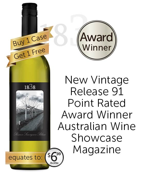 1838 Reserve Sauvignon Blanc 2021