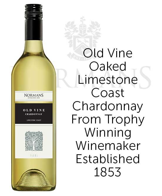 Normans Old Vine Limestone Coast Chardonnay 2021