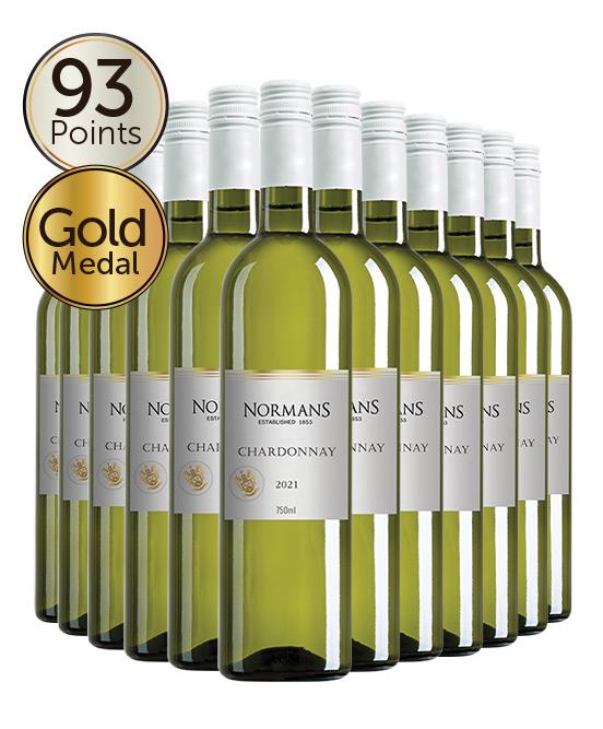 Normans White Label Lean & Green PET Chardonnay 2021 Dozen