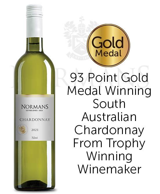 Normans White Label Lean & Green PET Chardonnay 2021