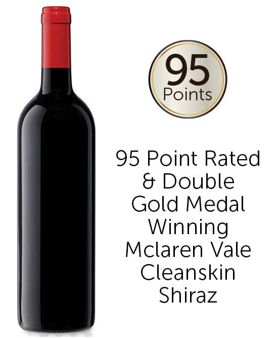 Museum Multiple Gold 95 Point McLaren Vale Shiraz 2016 Cleanskin