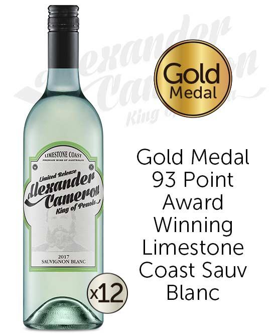 The Alexander Cameron Limestone Coast Sauvignon Blanc 2017 Dozen