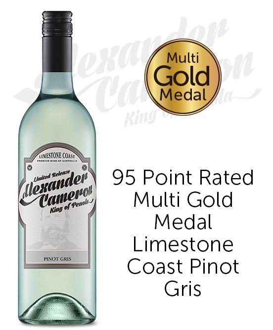 The Alexander Cameron Limestone Coast Pinot Gris 2020