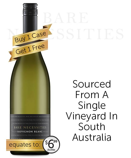 Bare Necessities Sauvignon Blanc 2020